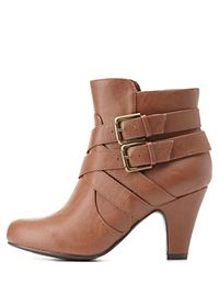 City Classified Belt-Wrapped Ankle Booties