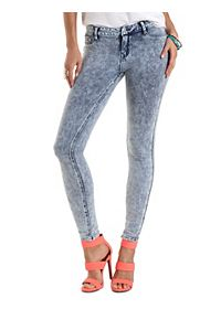 "Refuge ""Skin Tight Legging"" Knit Skinny Jeans"