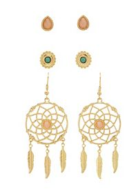 Stud & Dreamcatcher Earrings