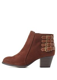 City Classified Belted Ankle Booties