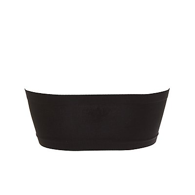 Ruched Seamless Bandeau Bra