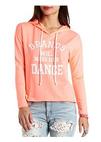 Brands Graphic High-Low Hoodie
