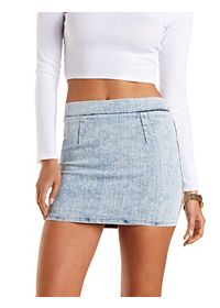 Bodycon Denim Mini Skirt