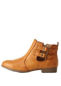Bamboo Belted Chelsea Boots