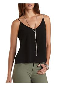 Chiffon Swing Tank Top