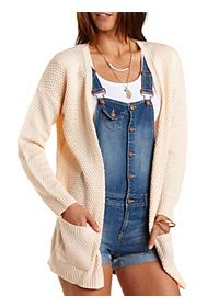 Oversized Open Cardigan Sweater