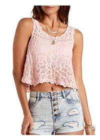 Embroidered Swing Tank Top