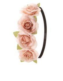 Rose Flower Crown Head Wrap