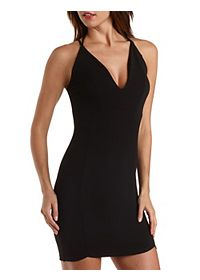 Strappy Bodycon Halter Dress