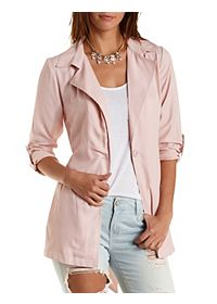 Belted Lightweight Trench Coat