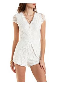 Tulip and Lace Romper