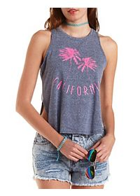 California Graphic Muscle Tee