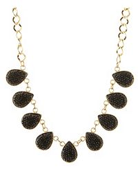 Pave Stone Statement Necklace