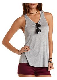 Racerback Tunic Tank Top