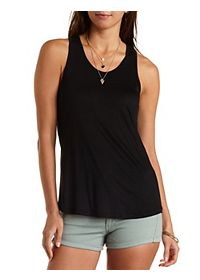 Racer Back Tunic Tank Top