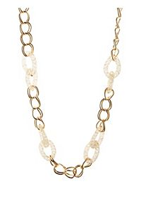 Beaded Link Chain Necklace