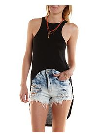 Extreme High-Low Tank Top