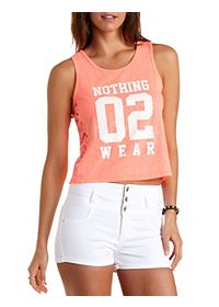 Nothing 02 Wear Graphic Tank Top