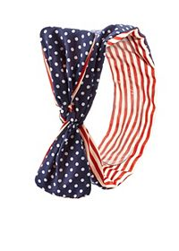 Americana Print Wired Headband