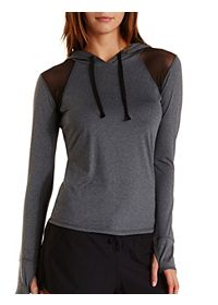 Mesh Cut-Out Performance Hoodie