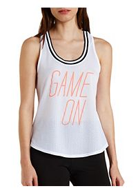 Game One Graphic Mesh Tank Top