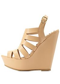 Laser Cut-Out Platform Wedges