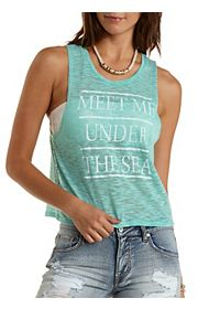 Under the Sea Graphic Muscle Tee