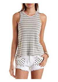 Reverse High-Low Muscle Tee