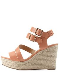 City Classified Strappy Espadrill