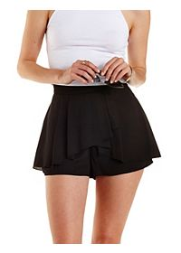 Tulip Peplum High-Waisted Shorts