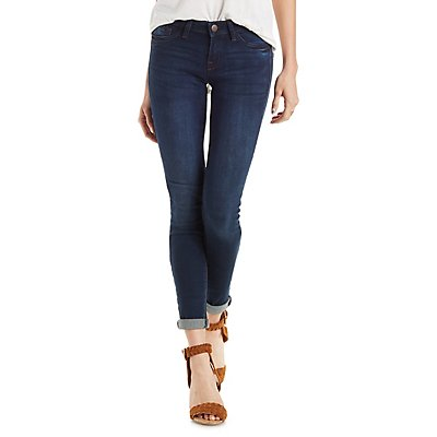 "Refuge ""Skin Tight Legging"" Dark Wash Jeans"