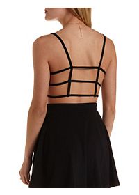 Caged Wrap Bra Top