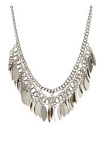 Dangling Chain Collar Necklace