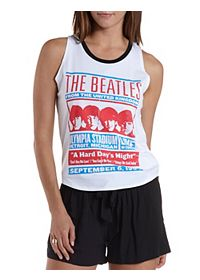 The Beatles Graphic Muscle Tee