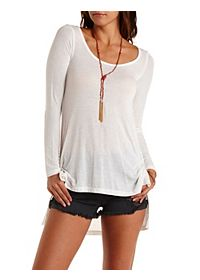 Long Sleeve High-Low Tee