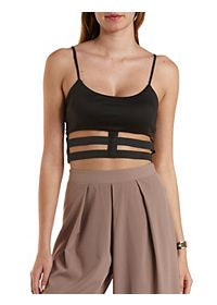 Stretchy Caged Crop Top