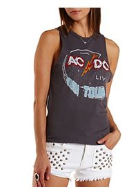 AC/DC Graphic Muscle Tee