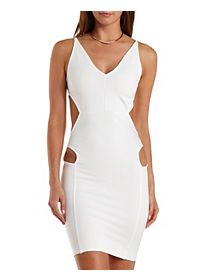 Hip Cut-Out Bodycon Dress