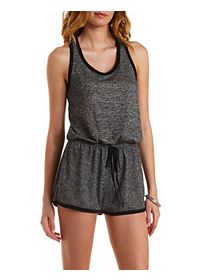 Racerback French Terry Romper