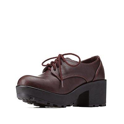 Lug Sole Oxfords