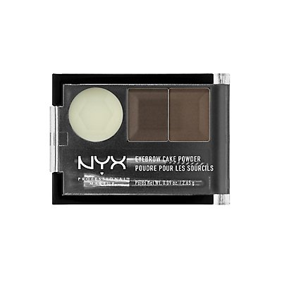 Dark Brown NYX Professional Makeup Eyebrow Cake Powder