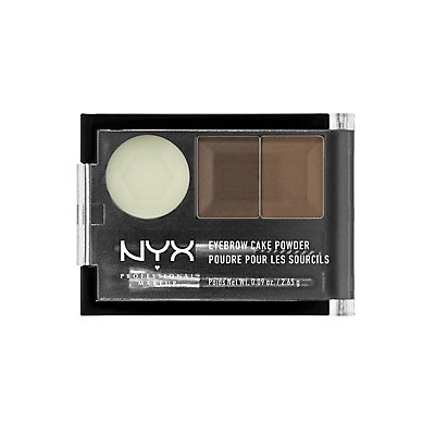 Brunette NYX Professional Makeup Eyebrow Cake Powder