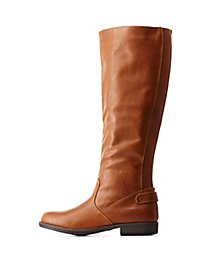 Bamboo Gored Flat Riding Boots