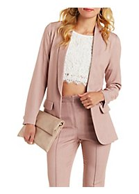 Love & Air Longline Shawl Lapel Blazer
