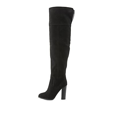 High Heel Over-the-Knee Boots | Charlotte Russe