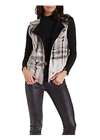 Reuge Collection Reversible Faux Fur Vest
