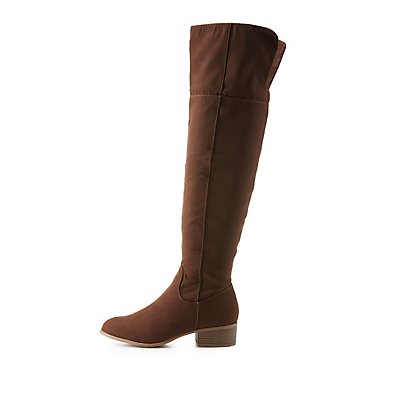 Flat Over-the-Knee Boots