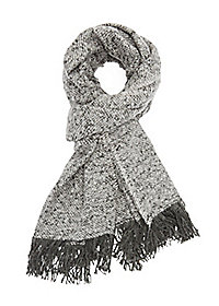 Fringed Woven Scarf