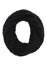 Eyelash Sweater Knit Infinity Scarf