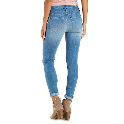 "Refuge ""Hi Waist Skinny"" Jeans"